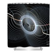 String Quartet Shower Curtain by Andee Design