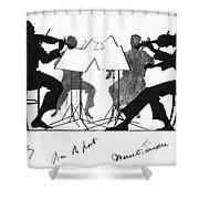 String Quartet, C1935 Shower Curtain