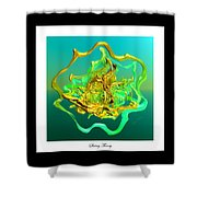 String Theory D Shower Curtain
