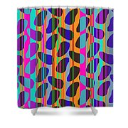 Stripe Beans Shower Curtain