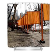 Strolling Through Central Park Shower Curtain