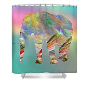 Strong Impression Shower Curtain