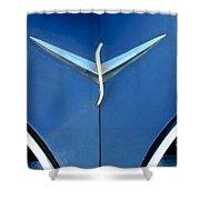 Studebaker Hood Emblem Shower Curtain