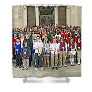 Students Catholic Schools 2007 Shower Curtain