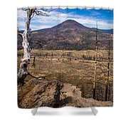 Studies On Sugarloaf Peak 3 Shower Curtain