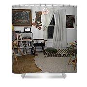 Studio - Art Work Space Shower Curtain