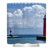 Studio Lighthouse Shower Curtain
