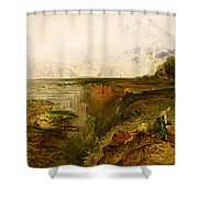 Study For The Last Judgement Shower Curtain