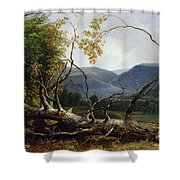 Study From Nature - Stratton Notch Shower Curtain