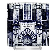 Study Of One Of The Oldest Catholic Churches In New Orleans Shower Curtain