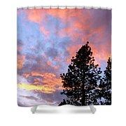 Stunning Spring Sky Shower Curtain