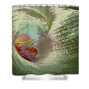 Stylized Calla Lily Shower Curtain