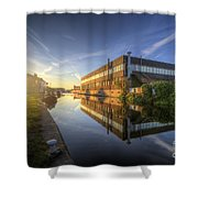 Suburban Sunrise 4.0 Shower Curtain