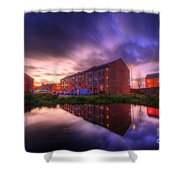 Suburban Sunset 1.0 Shower Curtain