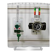 Suction Unit Shower Curtain