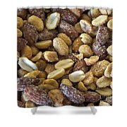 Sugar Coated Mixed Nuts Shower Curtain