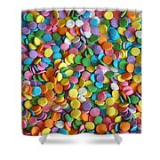 Sugar Confetti Shower Curtain