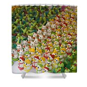 Sugar Figurines For Sale At The Day Shower Curtain