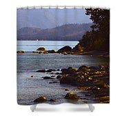 Sugar Pine Point Beach Shower Curtain