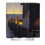 Sugar Pine Point Dock Shower Curtain