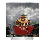 Sugar Ship Shower Curtain