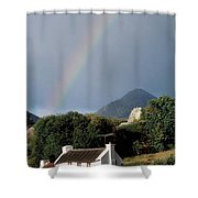 Sugarloaf Mountain, Glengarriff, Co Shower Curtain