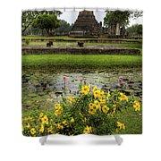 Sukhothai Historical Park Shower Curtain