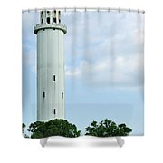 Sulfur Springs Water Tower Shower Curtain