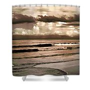 Summer Afternoon At The Beach Shower Curtain