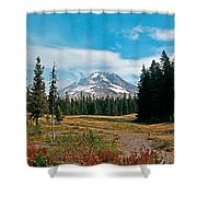 Summer At Mt. Hood In Oregon Shower Curtain