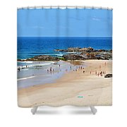 Summer At Port Macquarie Shower Curtain