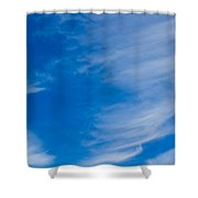 Summer Cloud Images Shower Curtain