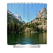 Summer Day At Jenny Lake Shower Curtain