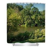 Summer Happiness - Holmdel Park Shower Curtain