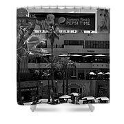 Summer In Hollywood Shower Curtain