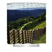 Summer In Vail - Colorado Shower Curtain