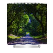 Summer Lane Shower Curtain