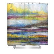 Summer Marsh Shower Curtain