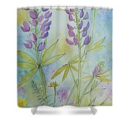 Summer Meadow Shower Curtain