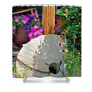 Summer Millstone Shower Curtain