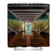 Summer Palace Shower Curtain by Adrian Evans