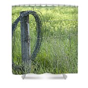 Summer Repairs Shower Curtain
