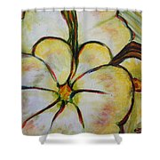 Summer Squash Shower Curtain