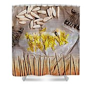 Summer Stay In My Secret Garden Shower Curtain