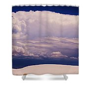 Summer Storms Over The Mountains 2 Shower Curtain