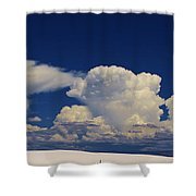 Summer Storms Over The Mountains 3 Shower Curtain