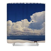 Summer Storms Over The Mountains 4 Shower Curtain