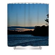 Summer Sundown Shower Curtain