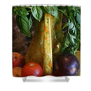 Summer's Bounty Shower Curtain