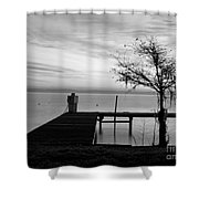 Summer's Gone Shower Curtain